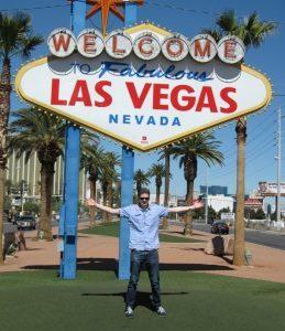 Wouter in Las Vegas